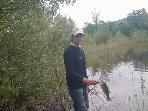 or fish at the fishing pond ( no kill fish)