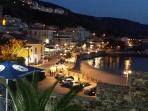 Pizzo harbour by night