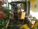 terrace and veranda