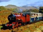 La Ratty miniature railway