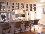 Breakfast bar with seating for 4 - 415 Main Street Chatham Cape Cod New England Vacation Rentals