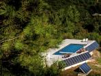 The pool and solar energy production