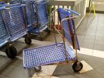 luggage carts for your use (free!)