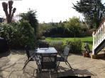 Large Patio into garden