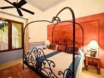 Hacienda Kukulkan Suite 6: Bedroom North Side Tennis View - Ground Level
