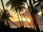 Sun rises..