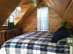 Master Bedroom  Sleep well on the king bed