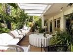 Entertainers dream California indoor out door living at its best under this BH Cabana!!