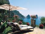Easily accessible Capri villa by foot or by car. HII PIC