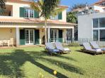 Exterior & pool house