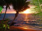 Coucher de soleil au Vanila