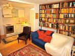 Upper Floor Living Room With Double Sofa Bed