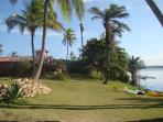 View of Casa Pescador lake side