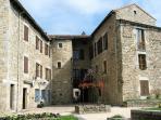 Medieval town of Le Malzieu-Ville