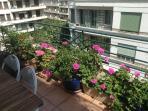 floral terrace