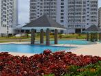 3 outdoor swimming pools 1st 3 guests P150 succeeding P200 per head and per usage