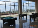 Game room ( Billiard and Soccer table game ) Free of charge for the meantime