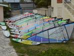 Windsurf equipment rental
