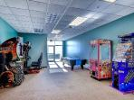 Arcade on the 1st floor for young guests and young at heart