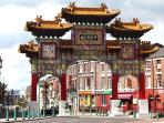 Chinatown around the corner