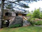 Nestled among mature pines, Frances Louis House is a secluded oasis of peace and tranquility.