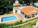Ariel view of Villa Florent