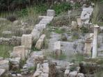 Eleftherna ancient ruins dating back to Minoan times