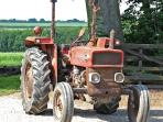 We are a working arable farm - this is one of our first tractors