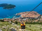 CABLE CAR - spectacular views (3 min walk away)
