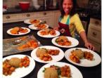 Chefs love the kitchen - Elevate Retreats team