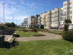 Sea front walk, A short walk you'll be in Old Portsmouth and Gunwharf Quays for some retail therapy.