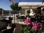 Terrasse et cuisine d été