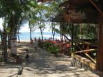 Tamarindo town, dinner at the beach