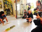 Workshop nello studio dell'artista Mauro Corbani