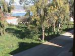 Enjoy a walk or bike ride from Ermolaos Villa to the sea.