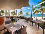 Private Beachfront Restaurant - Restaurant privé