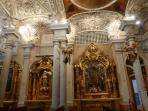 ONE OF THE MANY CHURCHES OF CADIZ