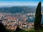 Panorama della città da Brunate