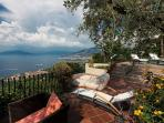 Sea-View Terrace, Bay of Naples and Sorrentine Peninsula