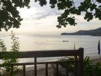 View of beach from CPF Boardwalk