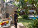 Barbecue area at Villa Windu Sari by Windu Villas