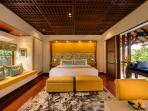 Bedroom Four at Villa Windu Sari by Windu Villas