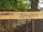 Speyfest  - music festival based in Fochabers - July/August every year