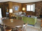 Located at Base of Powderhorn Mtn in the Western Upper Peninsula, A Quadruplex Rental Across the Street from the Main Ski Lodge