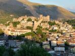 Historic Town of Itri Nestling in the Aurunci Mountains 5 mins drive from Tre Cancelle Farmhouse