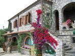 Villa with private pool, bbq barbecue area, pizza oven, solarium in quiet position in Sorrento coast