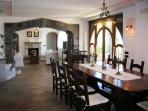 Sorrento villas booking living area with tv set, dvd player booking villa esposito amalfi coast rent