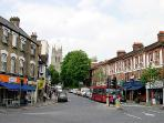 Beckenham High street