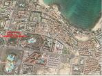 Central Position -200 mt sandy beaches -  Corralejo city center