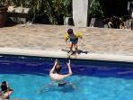 Enjoy the pool with loved ones